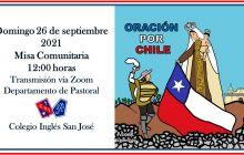MISA COMUNITARIA ORACIÓN POR CHILE