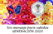 Mensaje de despedida a los IV° medios Generación 2020.