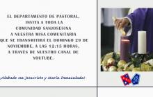 Misa Comunitaria, noviembre